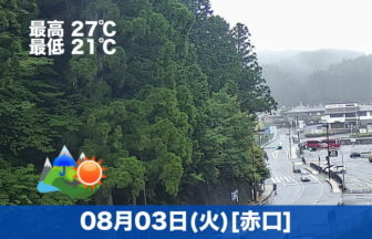おはようございます☔本日の高野山は雨模様です。午後から天気は回復していく見込みです。