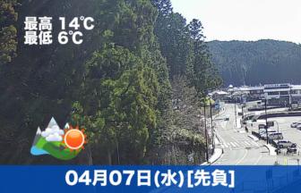 珍しく仕事に集中してたため、投稿がこんな時間に・・・高野山は昨日より、少し気温が上がりました😊
