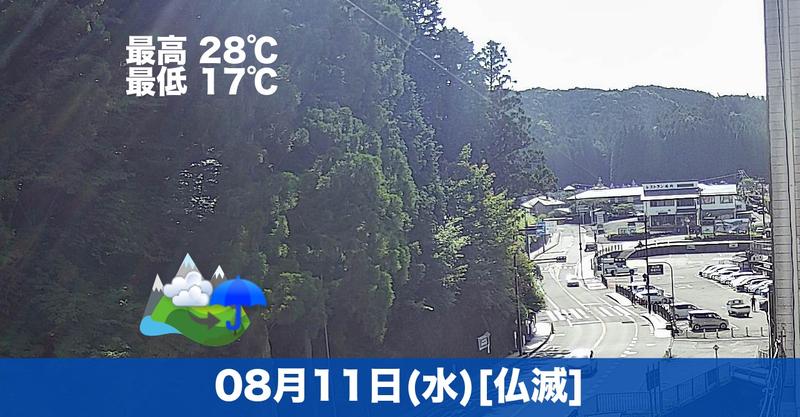 おはようございます😃今日は午後から雲が多くなりそうです☁
