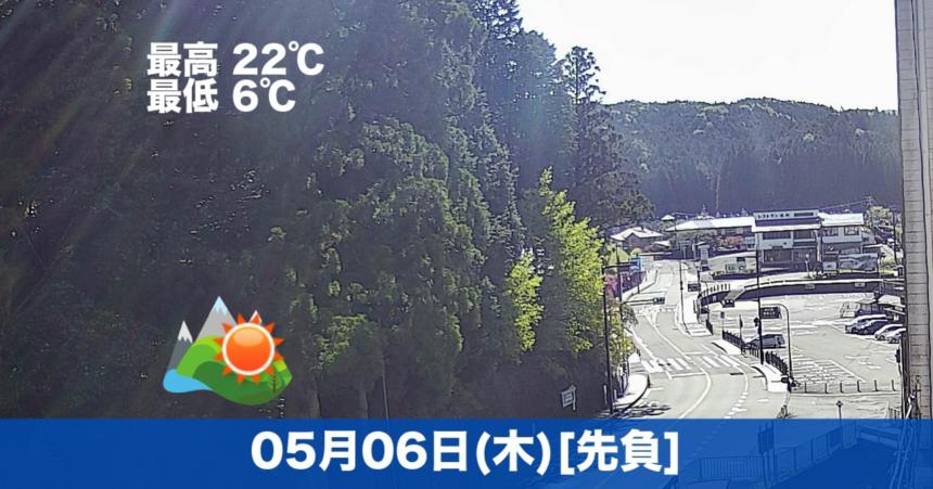 こんにちは☀今日の高野山は快晴です😊気温も高く過ごしやすいです。