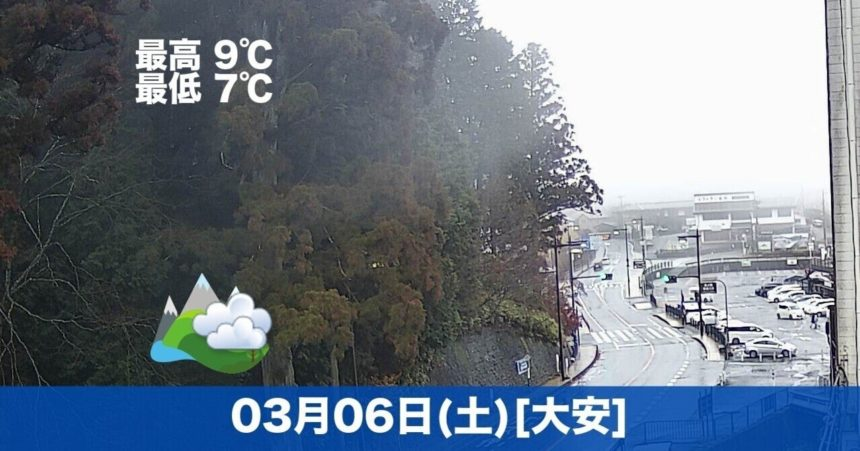 おはようございます☁今日の高野山はくもりの予報です😊土曜日なのでお参りの方は少し多いです。