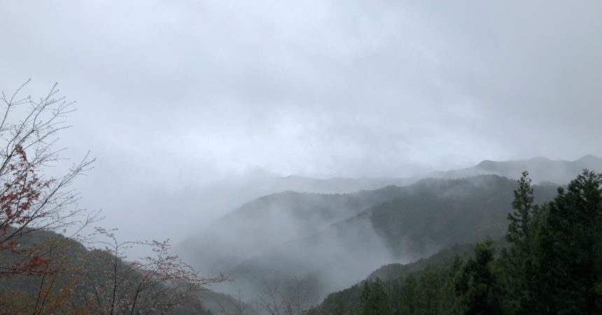 雨の日は、写経