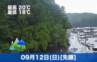 おはようございます☔本日の高野山は雨です。少し肌寒いくらいの気候になってきました。
