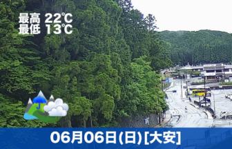おはようございます☔今日の高野山は雨模様です。傘をお忘れなくー