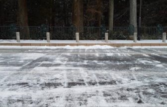 雪かき終了🧤